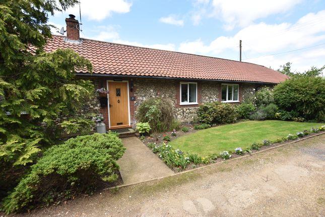 Thumbnail Detached bungalow for sale in West Park Farm Close, Ickburgh, Thetford, Norfolk