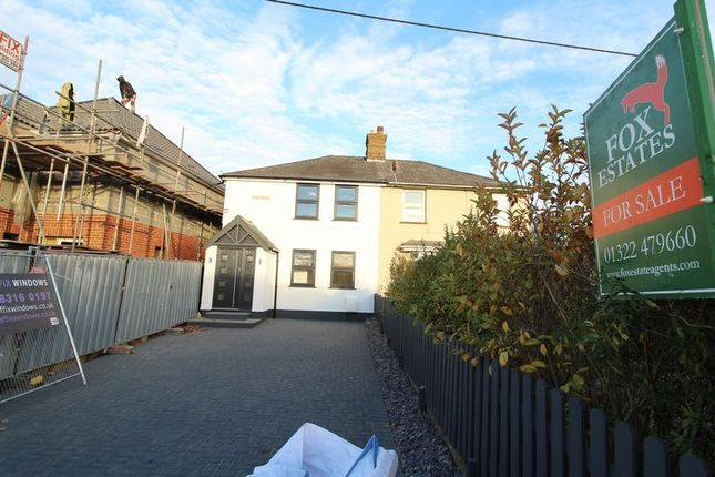 Thumbnail Semi-detached house for sale in Capel Place, Dartford