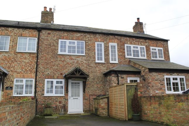 Thumbnail Terraced house for sale in The Row, Hunsingore, Wetherby