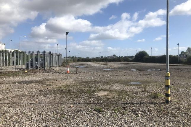 Land to let in Site C, Severn View Industrial Park, Central Avenue, Avonmouth