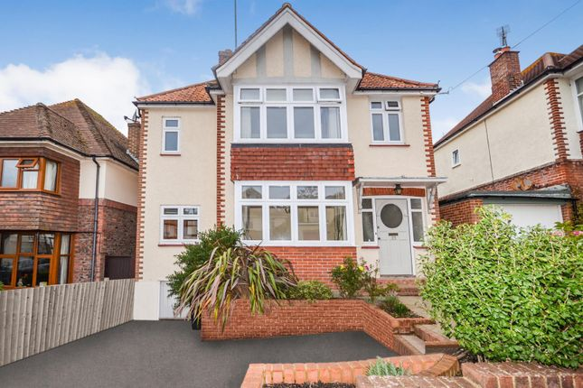 Thumbnail 4 bed detached house to rent in Plemont Gardens, Bexhill On Sea