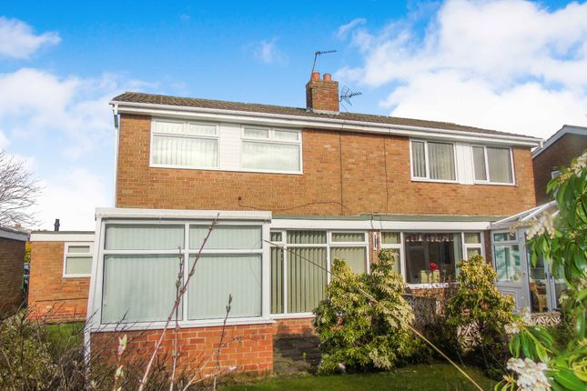 Thumbnail Semi-detached house for sale in Bryans Leap, Burnopfield, Newcastle Upon Tyne