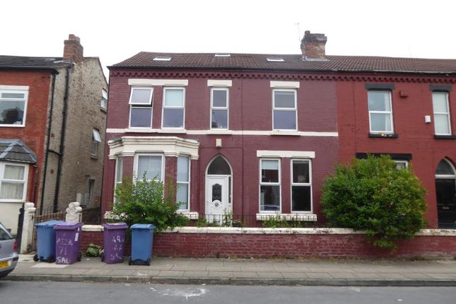 Thumbnail Terraced house for sale in Salisbury Road, Wavertree, Liverpool, Merseyside