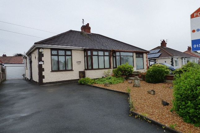 Thumbnail Semi-detached bungalow to rent in Birchfield Way, Lydiate, Liverpool