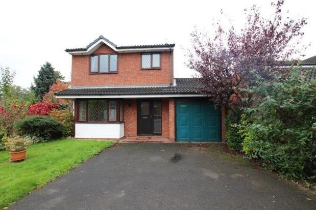 Thumbnail Property to rent in The Woodlands, Lichfield