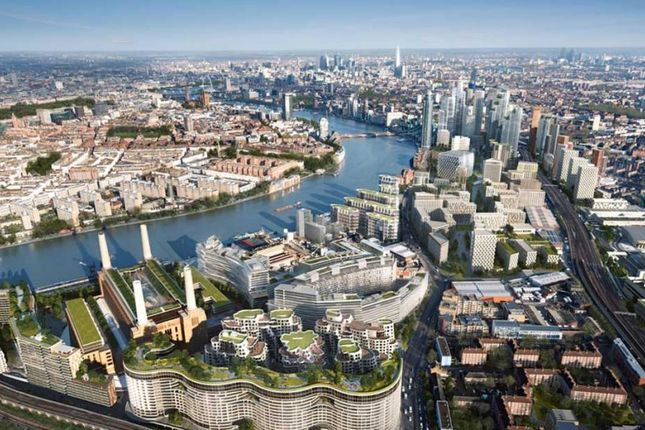 Thumbnail Duplex for sale in Battersea Power Station, London