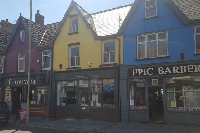 Thumbnail Office to let in Three Storey Shop And Premises, 12 Well Street, Porthcawl
