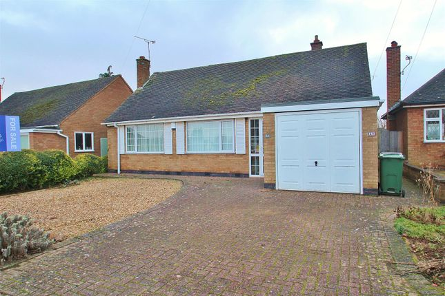 Thumbnail Bungalow for sale in Templar Way, Rothley, Leicester