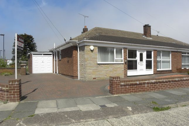 Thumbnail Semi-detached bungalow to rent in Solway Avenue, North Shields