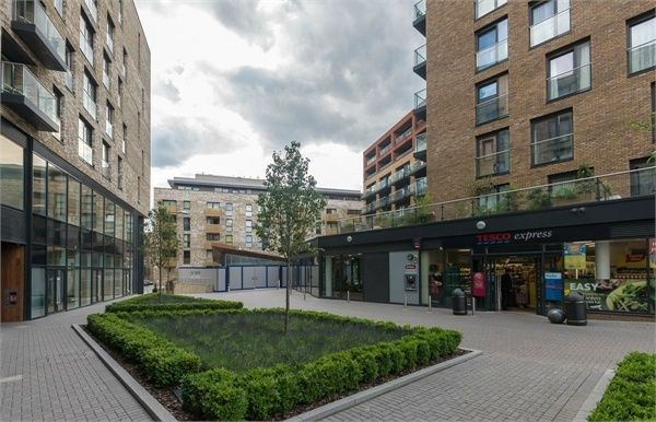 Thumbnail Flat for sale in Mariners Place, Marine Wharf, London