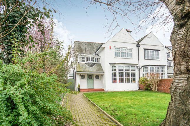 Thumbnail Semi-detached house for sale in Brampton Road, Carlisle
