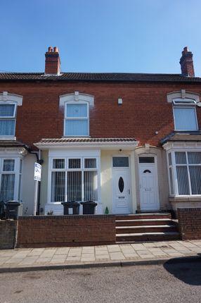 Thumbnail Terraced house for sale in Fernley Road, Birmingham