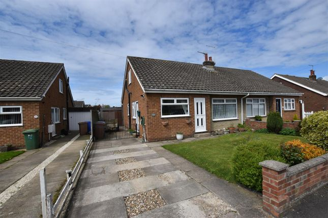 Thumbnail Semi-detached bungalow for sale in Ashleigh Drive, Beeford, Driffield