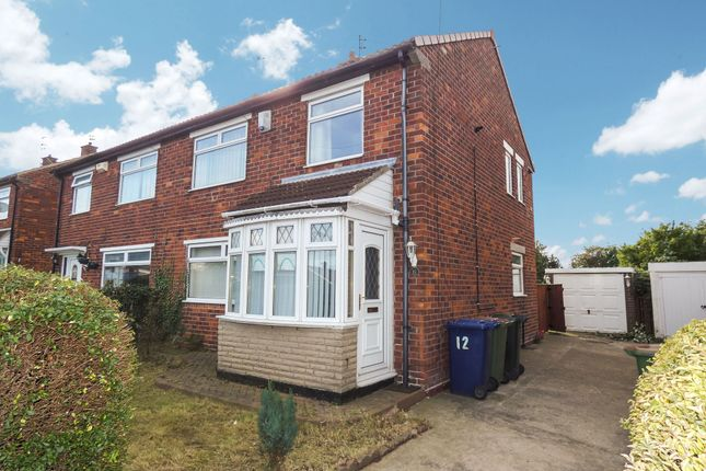 3 bed semi-detached house to rent in Churchill Road, Eston, Middlesbrough TS6