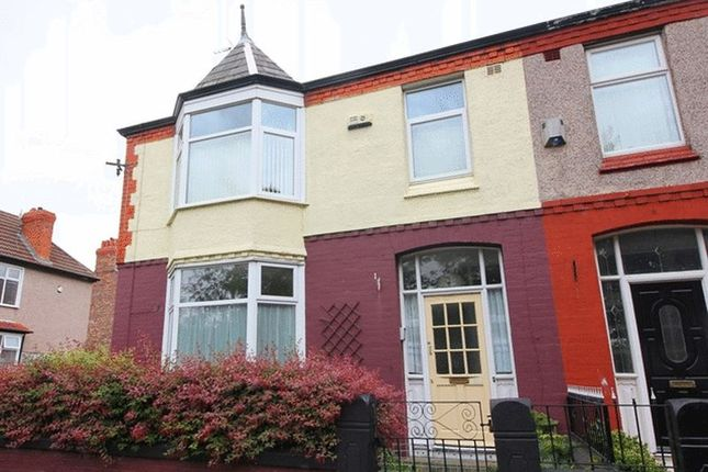 Thumbnail Terraced house for sale in Beechwood Road, Cressington, Liverpool