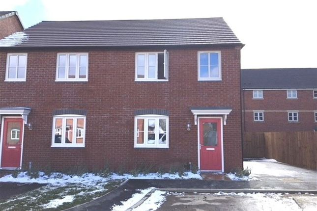 Thumbnail Semi-detached house to rent in College Close, Rugby, Warwickshire
