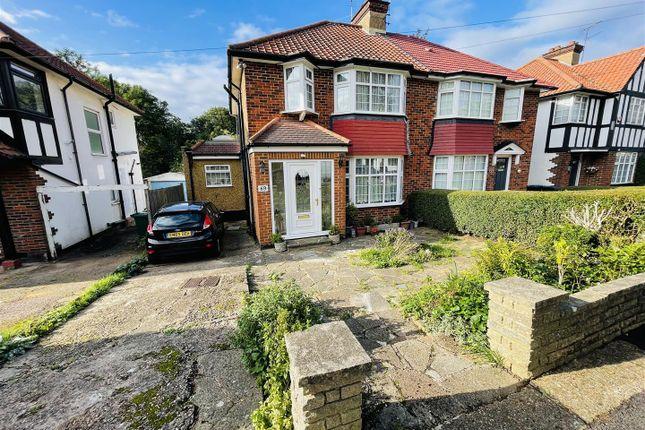 Thumbnail Semi-detached house for sale in Farm Road, Edgware