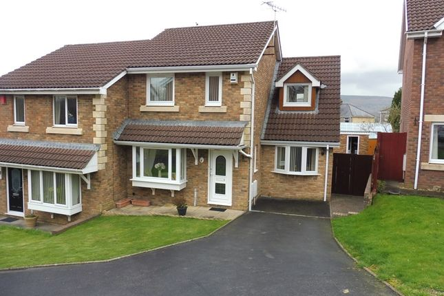 Thumbnail Semi-detached house for sale in Potters Field, Aberdare