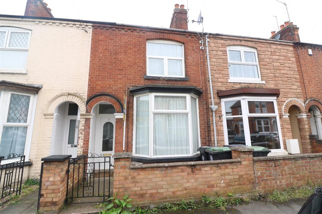 Thumbnail Terraced house for sale in Spencer Road, Rushden