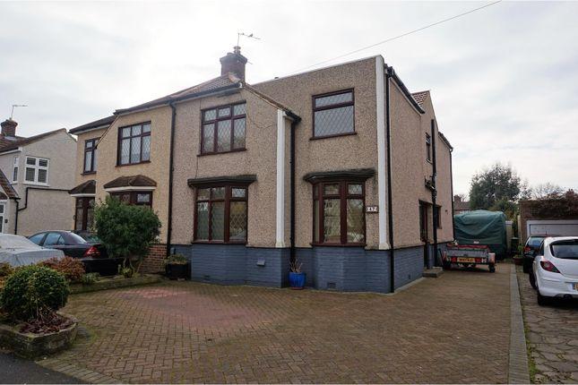 Thumbnail Semi-detached house for sale in Garden Avenue, Bexleyheath
