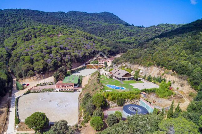 Thumbnail Equestrian property for sale in Spain, Barcelona North Coast (Maresme), Sant Andreu De Llavaneres, Mrs7659