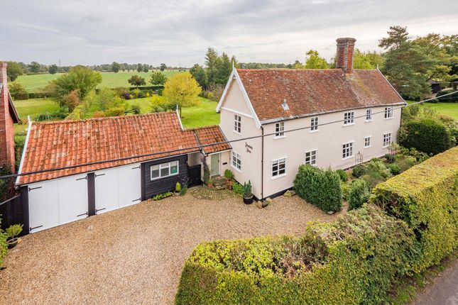 Thumbnail Farmhouse for sale in Wickham Skeith, Eye, Suffolk