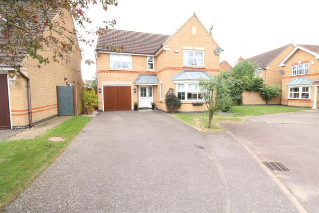 Thumbnail Detached house for sale in Yarrow Close, Rushden