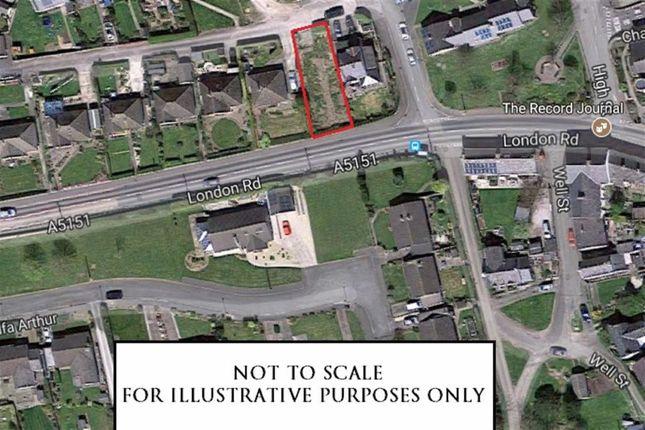 Thumbnail Land for sale in High Street, Trelawnyd, Flintshire