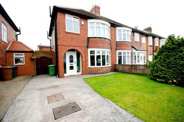 Thumbnail Semi-detached house for sale in Prengarth Avenue, Sunderland