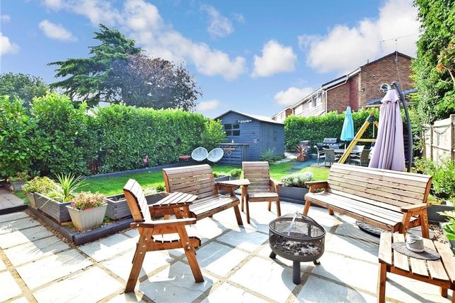 Rear Garden of The Drove Way, Istead Rise, Kent DA13