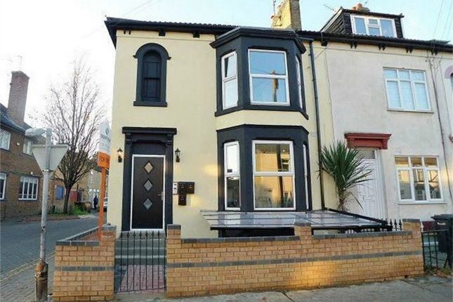 Thumbnail End terrace house for sale in Eastfield Road, Peterborough