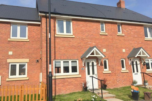 Thumbnail Terraced house to rent in Trem Gwlad Yr Haf, Coity, Bridgend.