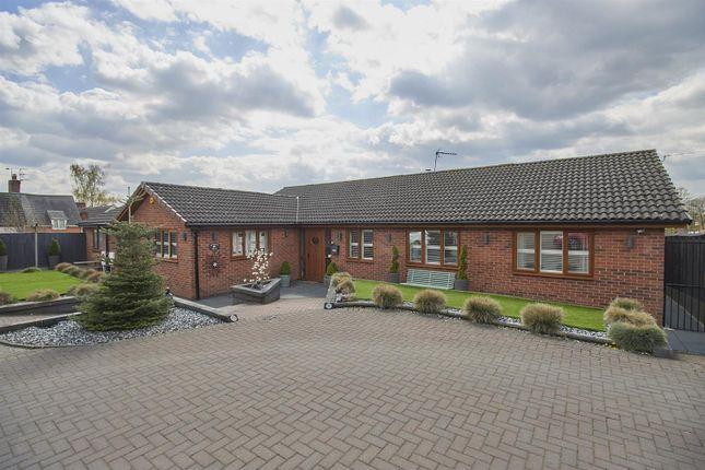 Thumbnail Detached bungalow for sale in Chapel Lane, Sharnford, Hinckley