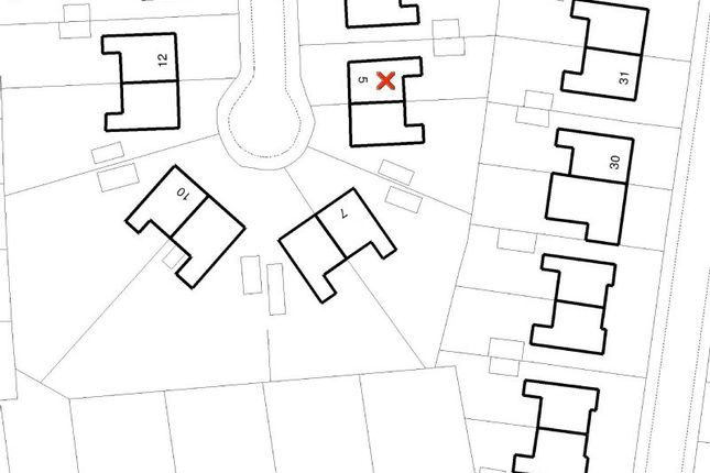 Site Plan of Hillside Road, Hale, Altrincham WA15
