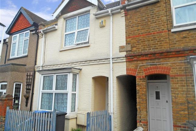 Thumbnail Terraced house for sale in Belmont Road, Westgate-On-Sea, Kent
