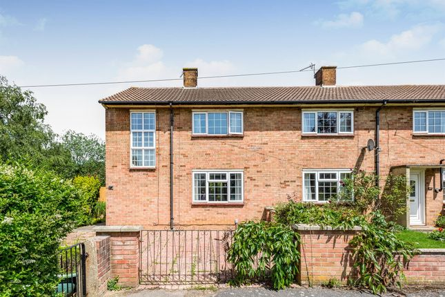 Thumbnail End terrace house for sale in Wood Farm Road, Headington, Oxford
