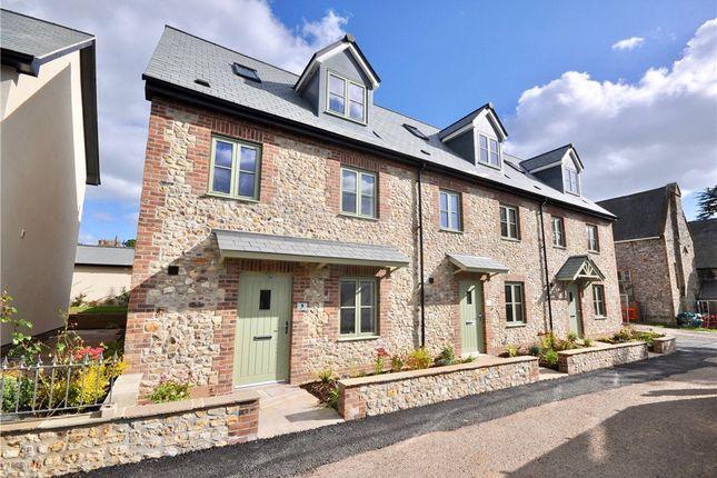 Thumbnail End terrace house for sale in St. Andrews Field, Chardstock, Axminster, Devon