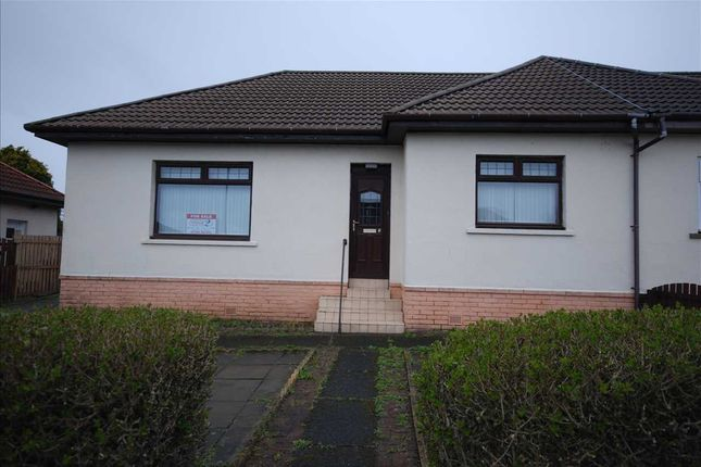 Thumbnail Bungalow for sale in Mckillop Place, Saltcoats
