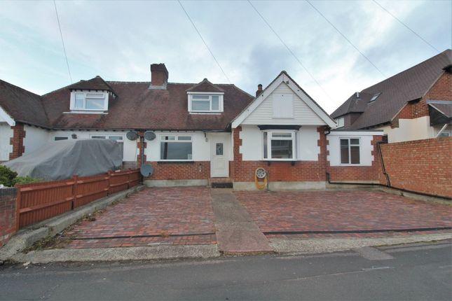 Thumbnail Semi-detached bungalow for sale in Leith Avenue, Portchester, Fareham