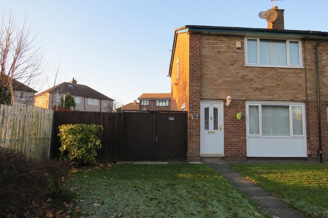 Thumbnail End terrace house for sale in Billinge Crescent, St. Helens