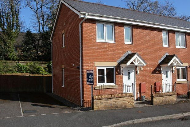 Thumbnail End terrace house to rent in Llwyn Teg, Swansea