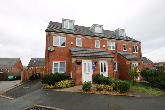 Thumbnail Town house for sale in Balmoral Close, Blackburn