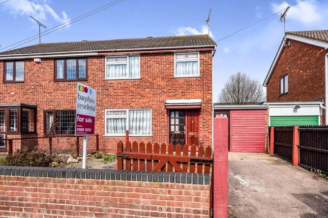 Thumbnail Semi-detached house for sale in Byrds Lane, Uttoxeter