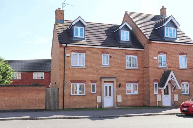 Thumbnail Semi-detached house to rent in Laughton Drive, Stamford
