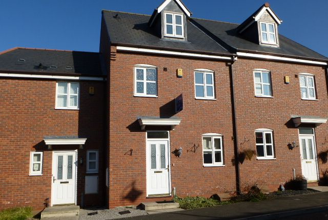 Thumbnail Town house to rent in Golden Hill, Wychwood Village, Weston, Crewe, Cheshire
