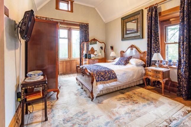 Bedroom of Tremfan Hall, Llanbedrog, Gwynedd LL53