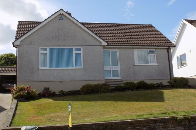 Thumbnail Detached bungalow for sale in Porthmeor Road, St. Austell