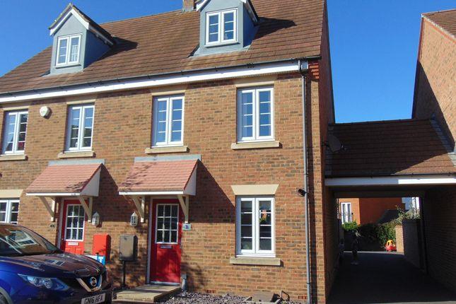 Thumbnail Town house to rent in Grenadier Way, Singleton, Ashford