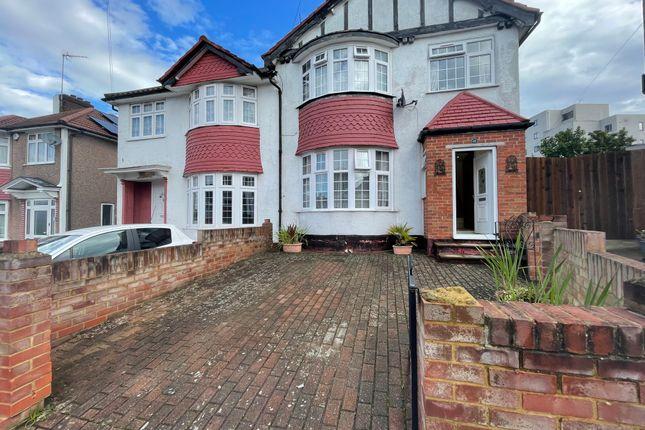 Thumbnail Semi-detached house to rent in Nettleden Avenue, Wembley