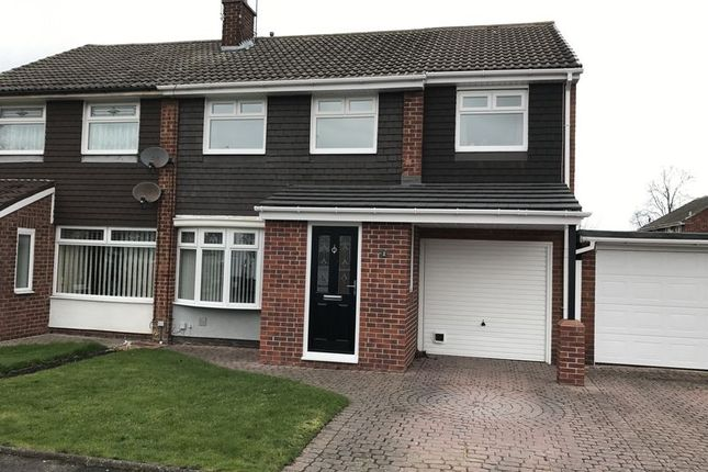 Thumbnail Semi-detached house for sale in Stephen Court, Jarrow